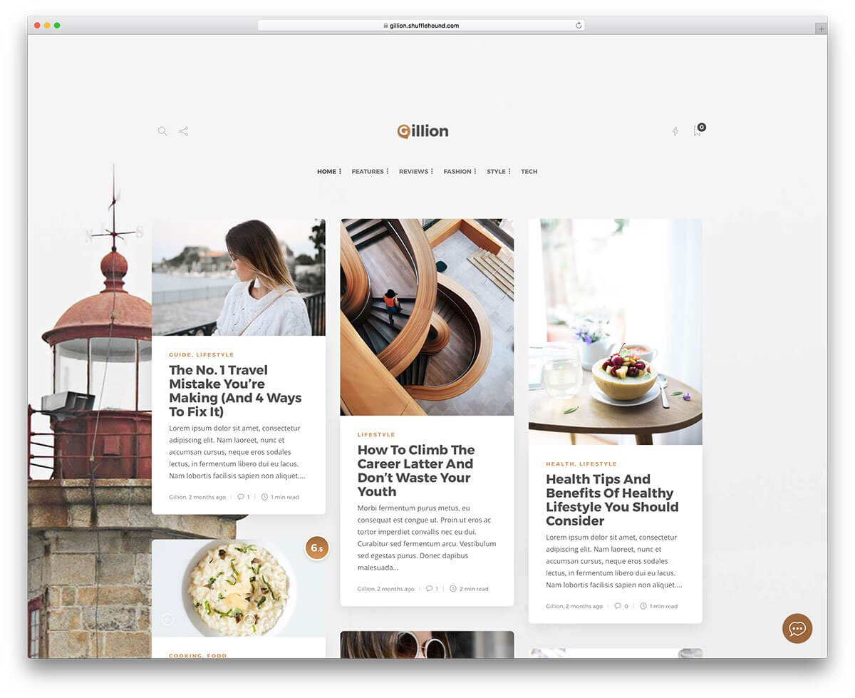 60+ Best Clean WordPress Themes 2020 - Colorlib Inside Blank Food Web Template