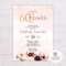 60Th Birthday Invitation – Colona.rsd7 With Regard To 60Th Birthday Party Invitation Template