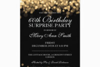 60Th Birthday Party Invitation Template – C-Punkt in 60Th Birthday Party Invitation Template