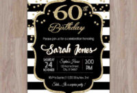 60Th Birthday Party Invitation Template – C-Punkt within 60Th Birthday Party Invitation Template