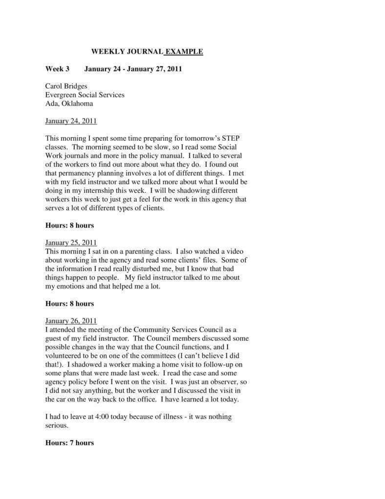 7+ Printable Journal Templates – Pdf, Word | Free & Premium Within Academic Journal Template Word