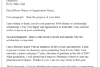 7 Scholarship Acceptance Letter Template Example Samples regarding Acceptance Card Template