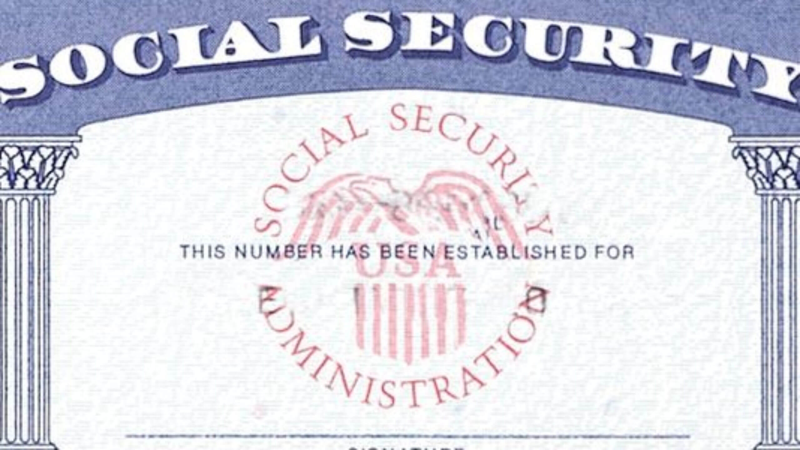 7 Social Security Card Template Psd Images - Social Security With Regard To Blank Social Security Card Template Download