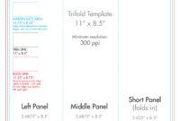 "8.5"" X 11"" Tri Fold Brochure Template – U.s. Press for 8 5X 11 Business Card Template"