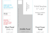 """8.5"""" X 11"""" Tri Fold Brochure Template – U.s. Press intended for 8.5 X 11 Flyer Template"""