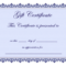 8+ Certificate Templates Word – Bookletemplate In Certificate Of Participation Template Word