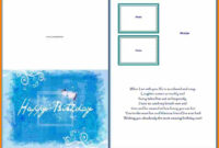 8+ Free Birthday Card Templates For Word | Psychic Belinda with regard to Birthday Card Publisher Template