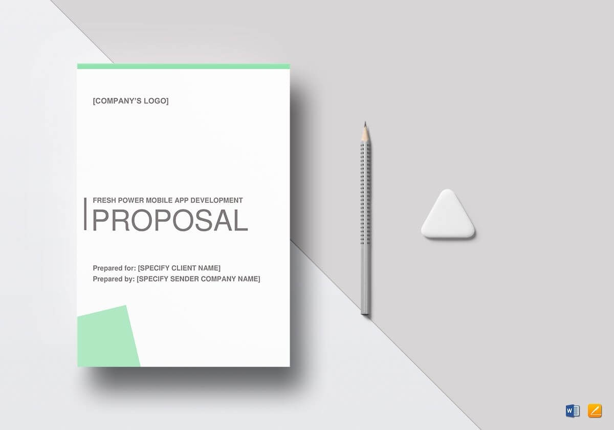 8+ Mobile App Development Proposal Templates | Free Pertaining To App Proposal Template
