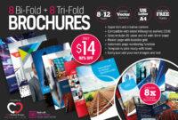 8 Print-Ready Indesign Bi-Fold & Tri-Fold Brochure Templates within Adobe Indesign Tri Fold Brochure Template