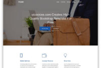 85 Free Business Website Templates For Startups (Html for Basic Business Website Template