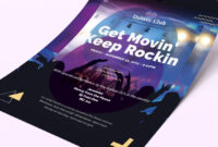88+ Premium & Free Flyer Templates In Psd – Download And pertaining to Benefit Dance Flyer Templates