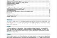 9+ It Policy Templates – Free Pdf, Doc Format Download inside Access Control Policy Template