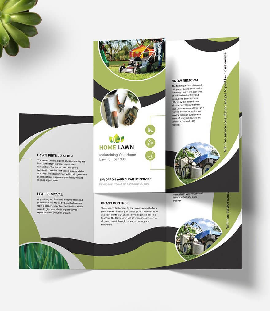 93+ Premium And Free Psd Tri Fold & Bi Fold Brochures Within Ai Brochure Templates Free Download