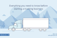 A Cheat Sheet For Starting Your Trucking Business with Business Plan Template For Transport Company