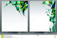 Abstract Blank Backgrounds Templates Stock Vector regarding Blank Templates For Flyers