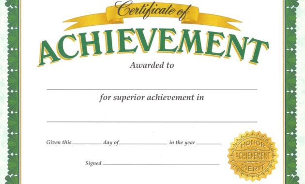 Academic Certificate Templates | Certificate Templates intended for Certificate Templates For School
