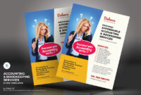 Accounting & Bookkeeping Services Flyers Corporate Identity Template for Accounting Flyer Templates
