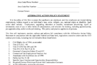 Affirmative Action Plan Template – Fill Online, Printable intended for Affirmative Action Plan Template