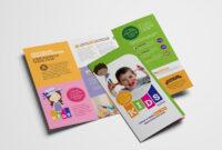 After School Care Tri-Fold Brochure Template In Psd, Ai for Brochure Templates For School Project