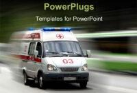 Ambulance Powerpoint Templates W/ Ambulance-Themed Backgrounds throughout Ambulance Powerpoint Template
