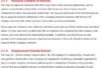 An Ethics Framework within Business Ethics Policy Template