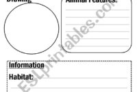 Animal Report Template – Esl Worksheetflora.m123 within Animal Report Template