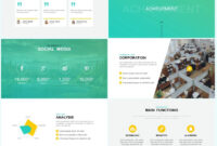Annual Report Powerpoint Template – Just Free Slides inside Annual Report Ppt Template