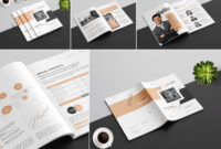 Annual Report Templateamal Kabichi On Dribbble intended for Annual Report Word Template