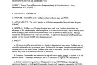 Army Memorandum For Leave | Templates At in Army Memorandum Template Word