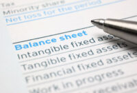 Assets, Liabilities, And Shareholder Equity Explained in Business Valuation Report Template Worksheet