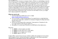 Assignment Report Writing Sample throughout Assignment Report Template