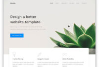 Atomic – Best Free Business Website Template 2020 – Colorlib for Basic Business Website Template