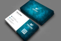 Aurora Professional Corporate Business Card Template 000927 in Buisness Card Templates
