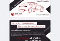 Automotive Business Card Templates | Auto Repair Business in Automotive Business Card Templates