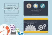 Automotive Business Name Card Design Template. – Download pertaining to Automotive Business Card Templates