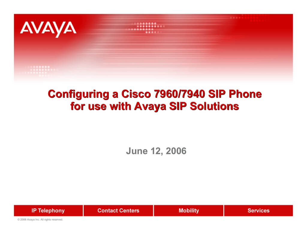 Avaya 7940 Ip Phone User Manual   Manualzz Throughout Avaya Phone Label Template