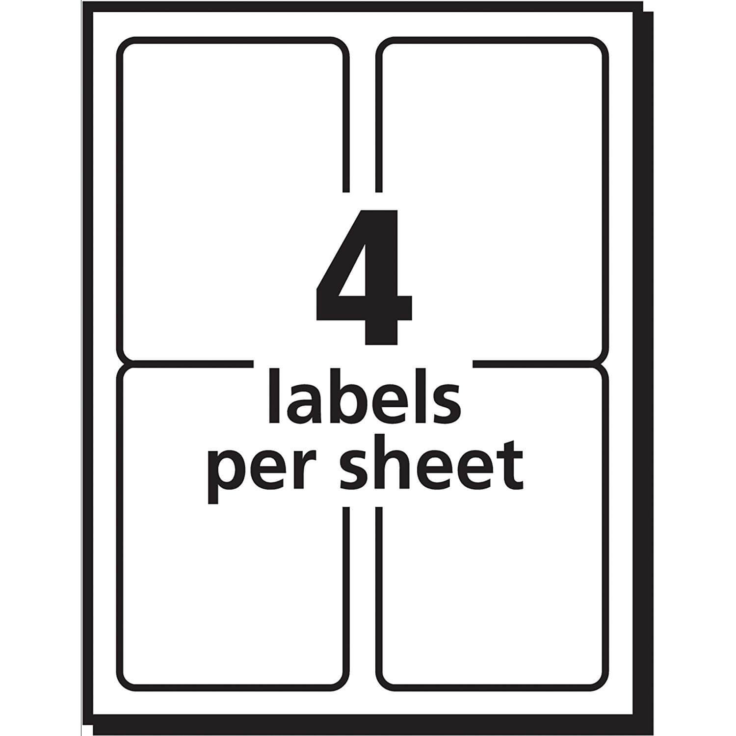 Avery 3×5 Label Template Unique 3×5 Label Template In 3 Labels Per Sheet Template