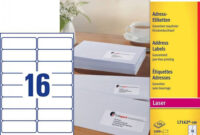 Avery 7163 -100 Address Lables, 99.1 X 38.1Mm with regard to 99.1 Mm X 38.1 Mm Label Template