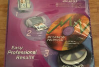 Avery Cd Stomper Pro Cd/dvd Labeling System And 33 Similar Items in Cd Stomper 2 Up Standard With Center Labels Template