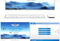 Awesome Air Force Conference Report Ppt Template For pertaining to Air Force Powerpoint Template