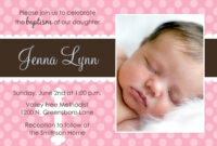 Baby Christening Invitations Wording : Baby Christening for Baptism Invitation Card Template