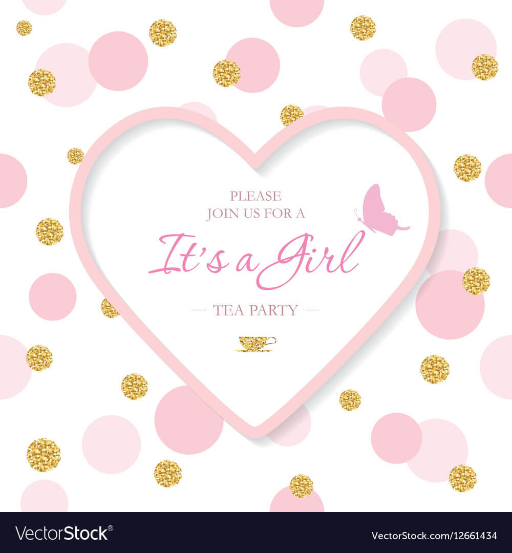 Baby Party Invitation Templates – Colona.rsd7 Throughout Baby Shower Flyer Templates Free