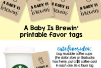 Baby Shower Favor Tag Printables | Cutestbabyshowers regarding Baby Shower Label Template For Favors