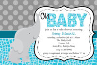 Baby Shower Invitation Templates For Word throughout Baby Shower Invitation Templates For Word