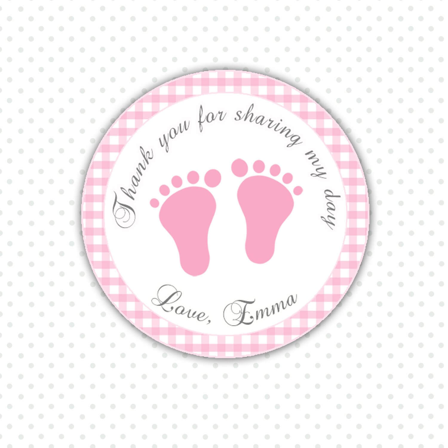 Baby Shower Labels For Favors Templates • Baby Showers Design In Baby Shower Label Template For Favors