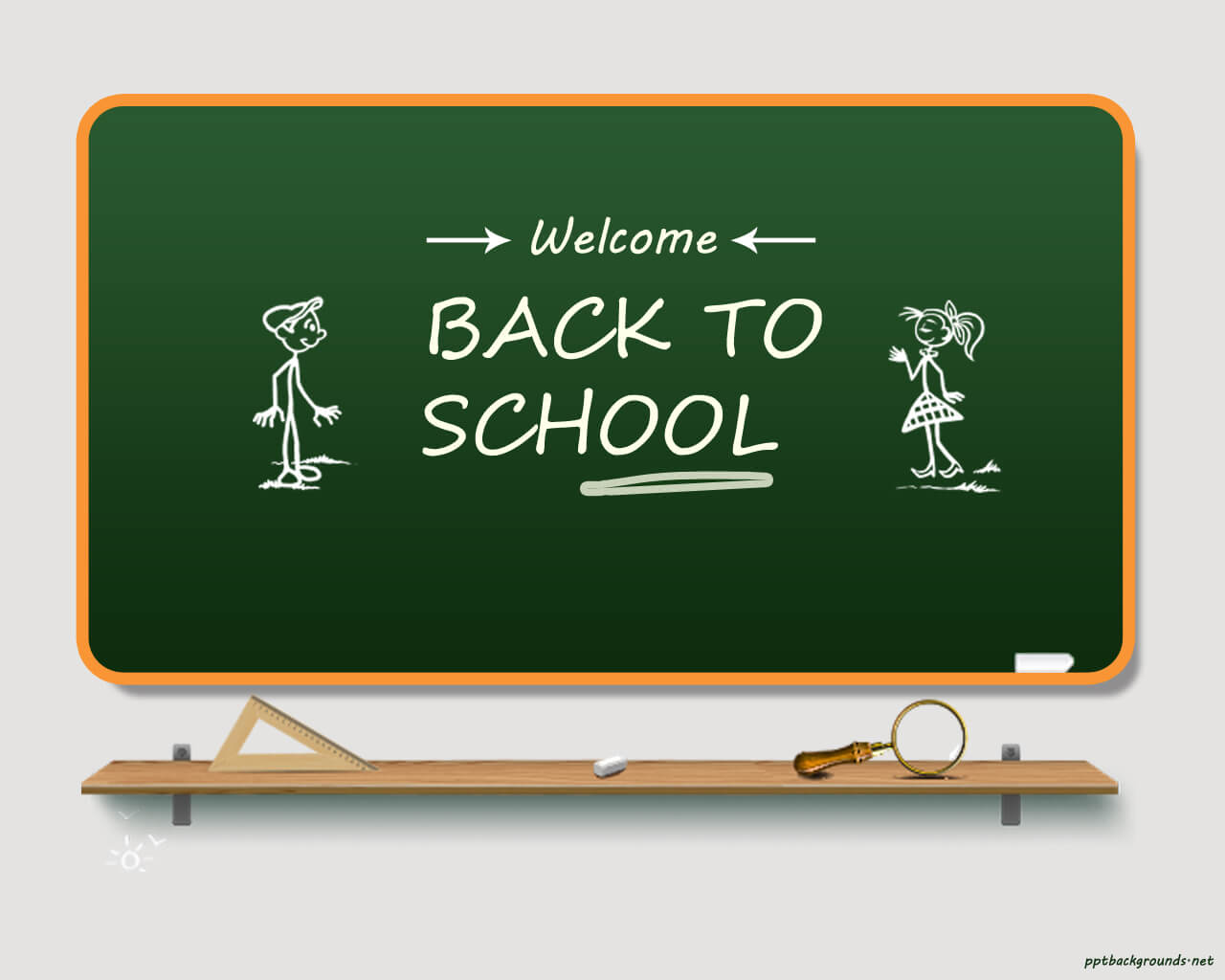 Back To School 2014 - 2015 Backgrounds For Powerpoint With Back To School Powerpoint Template