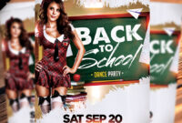 Back To School Dance Party Flyer – Dope Downloads throughout Back To School Party Flyer Template