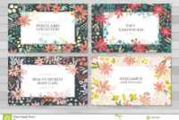 Background Cards Templates Stock Vector. Illustration Of inside Advertising Cards Templates