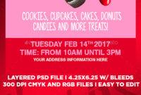 Bake Sale Flyer Graphics, Designs & Templates From Graphicriver regarding Bake Sale Flyer Template Free