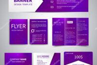 Banner Flyers Brochure Business Cards Gift Card Design regarding Advertising Cards Templates